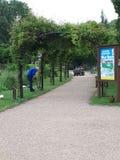 Le ressort met en place le parc Image libre de droits