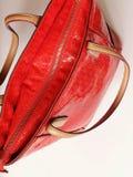Le ressort rouge Autumn Womens Accessories de mode de bourse de lunettes de soleil de gants en cuir vêtx le concept image libre de droits