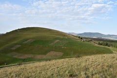 Le ressort sur les collines Photographie stock libre de droits