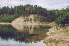 Le ressort viennent en Lettonie Photographie stock libre de droits