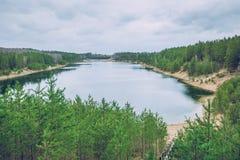 Le ressort viennent en Lettonie Photo libre de droits