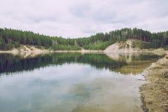 Le ressort viennent en Lettonie Images stock