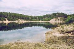 Le ressort viennent en Lettonie, ogre, l'Europe photographie stock