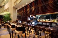 Le restaurant d'hôtel Images libres de droits