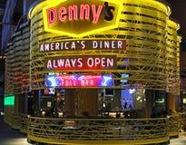 Le restaurant de Denny Photographie stock