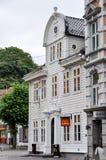 Le restaurant de McDonald à Bergen, Norvège Image libre de droits