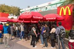 Le restaurant de McDonald image libre de droits