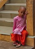 Le reste de nonnes de jeunes filles Photographie stock libre de droits