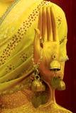 Le reste des textes du Bouddha chez Abu le long Photo stock