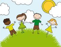 Le retrait des enfants Photos libres de droits