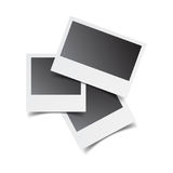 Le retro strutture in bianco della foto su bianco hanno isolato il fondo Vettore IL illustrazione vettoriale