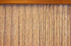 Le rideau est Maison-décoration Images libres de droits