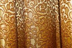 Le rideau vêtx la photographie de fond de vue de plan rapproché Photo libre de droits