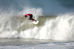 Le Rip Curl pro Portugal 2010 des hommes photo stock