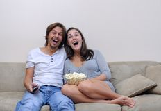 Le rire est la meilleure médecine Images libres de droits