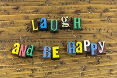 Le rire soit amour heureux de bonheur images libres de droits