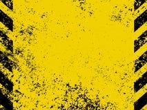 Le risque diagonal barre la texture. ENV 8 Image libre de droits