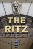 Le Ritz à Londres Photo stock
