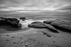 Le rivage d'océan Images libres de droits