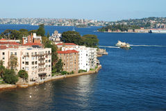 Le rivage du nord de Sydney, Australie Photos stock