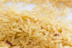 Le riz brun est le choix sain Image libre de droits