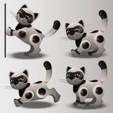 Le robot de chat illustration de vecteur