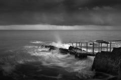 Le rocce 5 di immersione subacquea Fotografia Stock