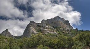 Le rocce sono in Crimea 2 Fotografia Stock