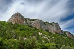 Le rocce sono in Crimea Fotografia Stock