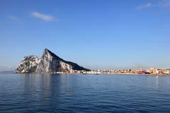 Le rocher de Gibraltar Photos libres de droits