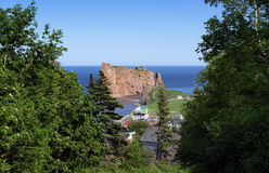 Le Rocher Percé Royalty Free Stock Images