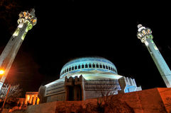 Le Roi Abdullah Mosque - Amman, Jordanie Photo stock