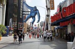 Le Roi accrochant Kong Photo stock