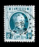 Le Roi Albert I (1875-1934), type Houyoux, serie, vers 1922 Photographie stock libre de droits