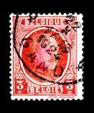 Le Roi Albert I (1875-1934), type Houyoux, serie, vers 1922 Photo stock