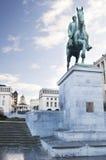 Le Roi Albert, Kunstberg de monument photographie stock