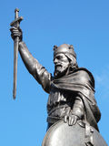 Le Roi Alfred le grand Photos libres de droits
