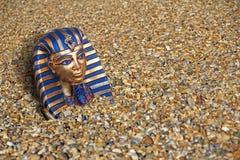 Le roi antique enterré submergé de trésor poussent une exclamation désapprobatrice l'Egypte images stock