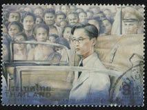 Le Roi Bhumibol Adulyadej Photographie stock