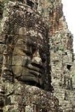 Le Roi bouddhiste Jayavarman de Mahayana de visage VII Photographie stock libre de droits