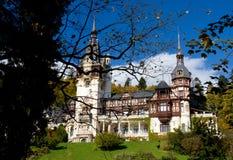 Le Roi Carol Palace de la Roumanie Photographie stock libre de droits