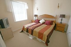 Le Roi chambre à coucher principale Image stock