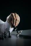 Le Roi Checkmate photos libres de droits