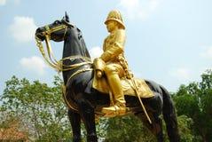 Le Roi Chulalongkorn de majesté. Photos stock