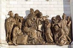 Le Roi David et jeune Solomon image libre de droits