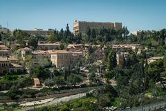 Le Roi David Hotel à Jérusalem Photographie stock