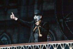 Le Roi Diamond sur Metalfest 2013 Images libres de droits