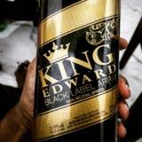 Le Roi Edward image stock