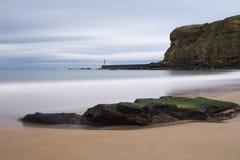 Le Roi Edward &#x27 ; baie Tynemouth de s Images libres de droits