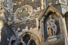 Le Roi Harold State chez Waltham Abbey Church Photos libres de droits